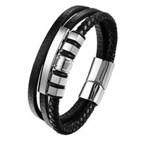 Stylish Stainless Steel Bracelet & Bangle silvery Bracelet C...