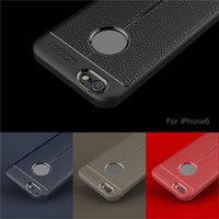Auto Focus TPU Litchi case for iPhone Xs Xr i8 7 Plus with L...