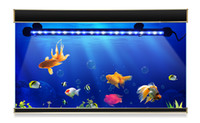110V 220V LED-rörlampa 19cm 29cm 39cm 49cm LED hård styv remsa Bar Ljus RGB Dyk undervattensljus fisketank dekorationslampa