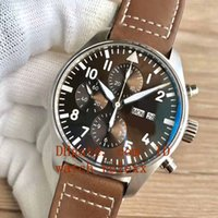 Mens luxury Superlative ZF factory ETA 7750 43mm Airplane 90...