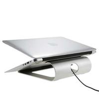 인체 공학적 디자인 알루미늄 노트북 스탠드 책상 독 홀더 받침대 냉각 패드 (iPad / iPhone / 노트북 / 태블릿 / PC / 스마트 폰 스탠드 용)