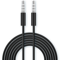 ذكر لذكر كابل الصوت 3.5mm TRRS 4-موصل ميكروفون ستيريو متوافقة المساعد AUX الحبل كبل العالمي لأجهزة تمكين 3.5MM