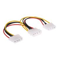 4 핀 Molex Male - 2 포트 Molex IDE 여성 전원 공급 장치 Y 분배기 어댑터 PC, 냉각 팬, CD 드라이버 하드 디스크