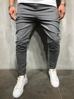 Casual striped casual pants