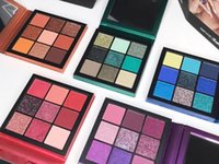 Hot Selling Makeup Brand Beauty Palette 9 color mini eyeshad...