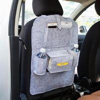 سيارة تخزين حقيبة العالمي المقعد الخلفي المنظم صندوق ورأى يغطي المقعد الخلفي حامل متعدد جيوب حاوية تستيفها التصميم