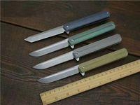 Квартирмейстер Qwaiken тактический складной нож D2 лезвие TC4 ручка Керамический шарикоподшипник кемпинг охота выживания карманный утилита EDC коллекция