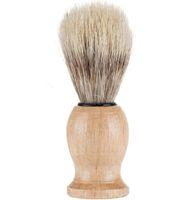 Мужчины медведь бритья кисти лучший Барсук волос бритья деревянной ручкой бритвы парикмахерская инструмент красоты кисти комплект аксессуары