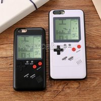 Tetris Phone Case For iPhone X Play Games Soft TPU Fitted Ba...
