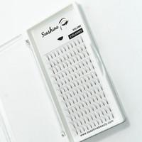Stelo corto di alta qualità Seashine 0.07 0.10 Ventilatori Premade Ventilatori volume 4D Volume Ciglia handmade lusso 4D Lashes migliore qualità 8-15mm