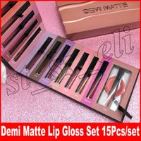 Makeup Beauty Brand DEMI Matte liquid Lipstick 15pcs set Liq...