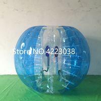 Trasporto libero 0.8mm PVC 1.5 m bolla calcio gonfiabile bolla pallone da calcio paraurti palla corpo zorb palla