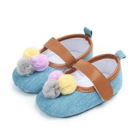 Baby Shoes Fashion Cute Ball Baby Girl Shoes Classic Canvas ...