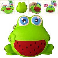 Squishy Cute Big Eyed Frog Scented Squishy Slow Rising Squee...