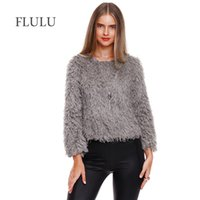 FLULU Casual Winter Coat Top Women 2018 Autumn Winter Solid ...