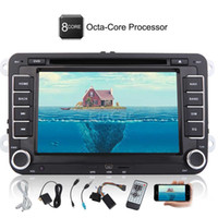 Double 2 Din Autoradio for VW Android 7.1 Car DVD Player Octa Core 2G + 32G Bluetooth 7 '' GPS HeadUnit Canbus Mirror Link 1080P
