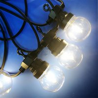10M Led Globe String Light with 20 Clear Milky Colorful bulb...
