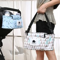 Diaper Bag Fashion Mummy Maternity Nappy Bag Thickened Waterproof Large Capacity Baby Stroller Hanging Accessories For Prams