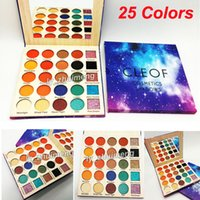 In stock CLEOF eyeshadow palette 25 colors CLEOF cosmetics s...