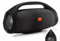 Bello suono Boombox Bluetooth Speaker Stere 3D HIFI Subwoofer Handsfree 6000 MAH Outdoor portatile Subwoofer stereo con scatola al minuto
