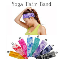 131 color Cotton Stretch Headbands Yoga Softball Sports Soft...
