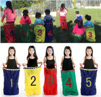 Kids Outdoor Game Parental Jumping Bag Race Racing Kids Pota...