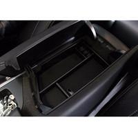المربع الوسطى مسند الذراع التخزين يغطي الزخرفية لمرسيدس بنز GL X166 ML350 400 300 320 اكسسوارات السيارات الداخلية