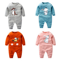 2018 Spring Children Cotton Baby Clothes 5 Styles Animal Bab...