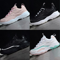 Fila 2018 Summer New Thick Bottom Damping Running Shoes Leat...