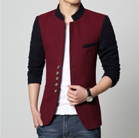 Chinois Taille Plus Blazer Hommes Collar Acheter Costume Gros Xw6aqFnxE1