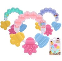 Baby Rattles Teethers Set Hand Grab and Shaking Bell Ring Ra...