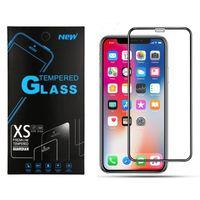 iPhone 13 12 11 PRO MAX XR XS全ガラスブラックハードエッジ9H 3D用iPhone 6 7 8プラスSamsung A42 A32 A12 A20 1プラスノードNORD NORD NORD NORD 5G