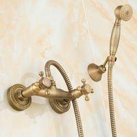Dofaso doccetta per telefono retrò e doccette con soffietto per telefono