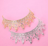 New brides, Korean diamond, brides, headwear, crown, crown, ...
