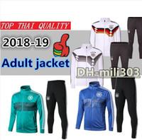 18 19 Alemanha jaqueta de agasalho de futebol Survetement 2018-19 qualidade  Superior alemanha MULLER 9985a5c84673a