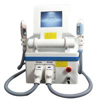 İki el aletleri 360 manyeto optik OPT IPL cilt gençleştirme SHR epilasyon makinesi