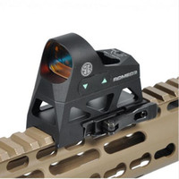 Taktische 1x25 Mini Reflexvisier 3 MOA Dot Absehen Red Dot Sight Umfang Picatinny QD Halterung für MSR Gewehre