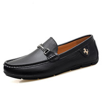 Men' s Leather Shoes Casual Loafers High Qulity Fashion ...