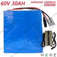 60V 30AH Lithium ion Battery High Power 3000W use Samsung 30...