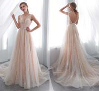 Элегантные платья o Шеи открыты назад Смотреть на верхнюю часть линии кружева длинные свадебные вечеринки невесты платья женщин свадебные платья HY4189
