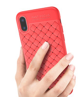 Weaving Knit Leather Lines Woven Slim Ultra- thin Mesh TPU Ph...