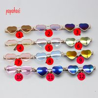 1 PCS 8cm Cute Heart Shape Glasses For icy BJD Blyth Doll ey...
