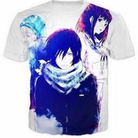 Anime Naruto 3D Komik Tişörtleri Yeni Moda Erkekler / Kadınlar 3D Baskı Karakter T-Shirt T gömlek Kadınsı Seksi Tshirt Tee Tops Giys ...