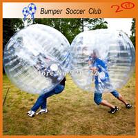 Frete grátis Dia 1,5m Bola Hamster inflável Humano louco Loopy Esfera Para Outdoor Fun Sports Bumper Bubble Ball Futebol Loopy Balloon