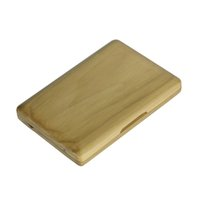 Wholesale- Solid Wood Bassoon Reed Case Holder Box Wooden Wal...