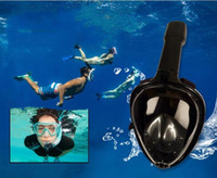 Kids Full dry- type Diving mask swimming mask physical anti- f...