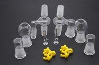 Adaptador de cristal femenino de sexo masculino de la regeneradora del aceite de 14m m 18m m para la tubería petrolera de cristal Bongs pipe