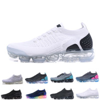 2018 New Mens 2 Running Shoes For Women Sneakers Knitting TP...