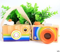 Hot Sale - Rainbow Children' s Wooden Simulator Camera K...