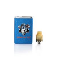 100% Originais Demônio Assassino Tiny RDA Tanque Com PCTG Drip Tip Atomizador Para Authentic Squonk Mod Kit vape caneta DHL livre